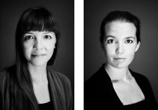 Laura Marie Sørensen og Camilla Stampe. Forfatterne til Piratjagt